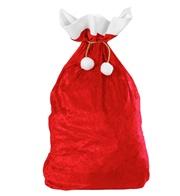 Sacco babbo Natale in velluto 60×100 cm