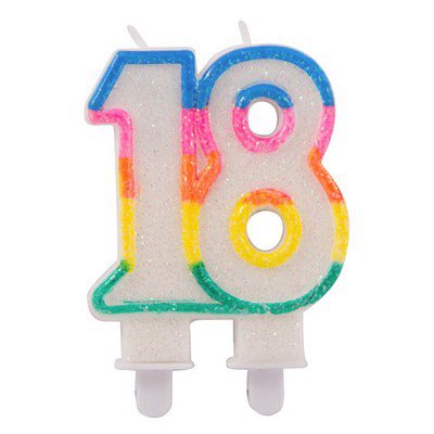 Candela multicolor anni 18