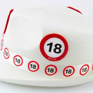 Cappello con simboli anni 18