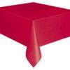 Tovaglia pvc colore Rosso cm 137×274