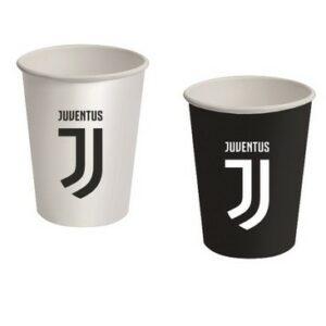 Bicchieri carta Juventus pz8