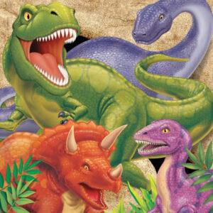 Tovaglioli tema dinosauri pz16