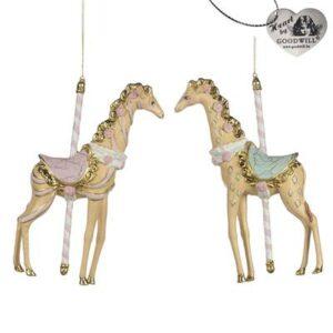 Decorazione giraffe giostra