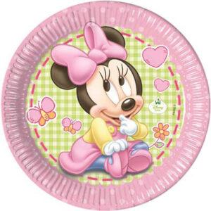 piatti baby Minnie cm 18
