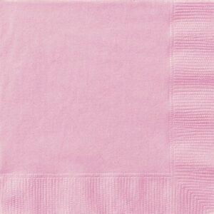 Tovaglioli carta rosa conf. 20pz