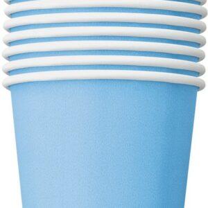 Bicchieri carta azzurri