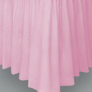 Tendina coprigambe tavolo pvc rosa
