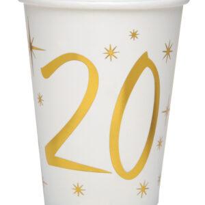 Bicchieri 20 anni bianchi