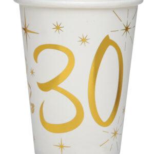 Bicchieri 30 anni bianchi