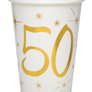 Bicchieri 50 anni bianchi