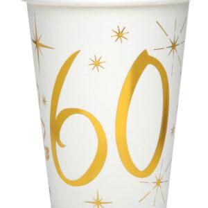 Bicchieri 60 anni bianchi