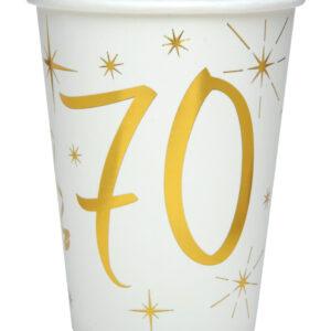 Bicchieri 70 anni bianchi