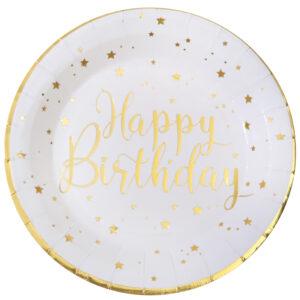 Piatti  happy birthday bianchi