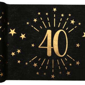 Runner 40 anni nero