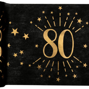 Runner 80 anni nero