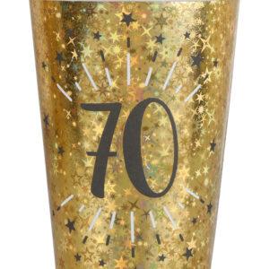 Bicchieri 70 anni compleanno