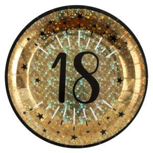 Piatti 18 anni compleanno