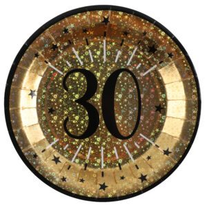 Piatti anni 30 compleanno