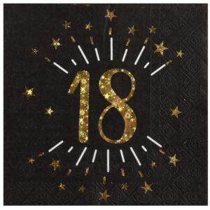 Tovaglioli carta anni 18