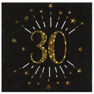 Tovaglioli anni 30 compleanno