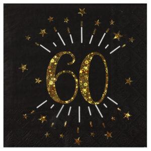Tovaglioli 60 anni compleanno