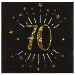 Tovaglioli 70 anni compleanno