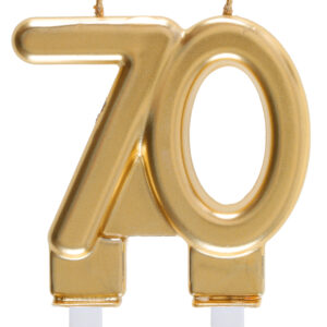 Candela 70 anni dorata