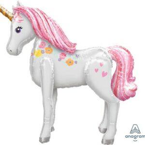Palloncino airwalker unicorno