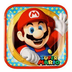 Compleanno tema Super Mario Bros