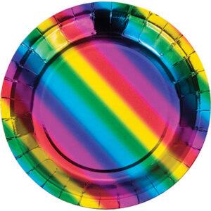Compleanno tema arcobaleno