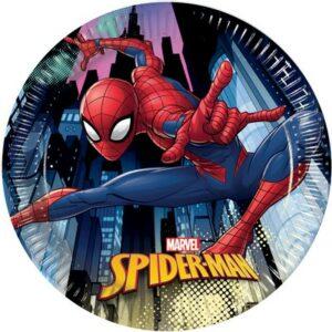 Piatti Spiderman cm 18