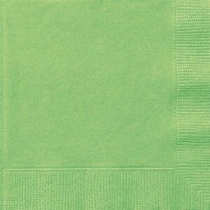 Tovaglioli carta verde lime