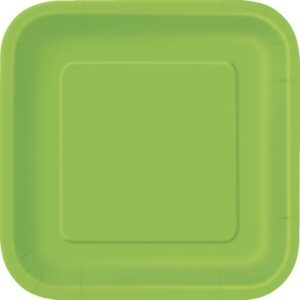 Piatti verde lime cm 18