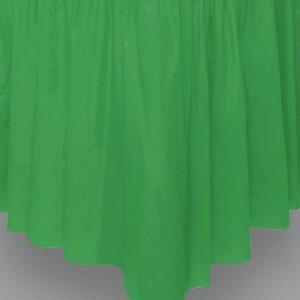 Tendina coprigambe tavolo verde