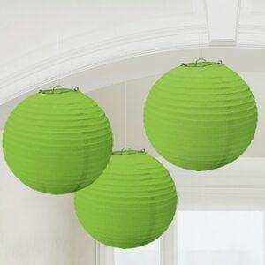 Lanterne Carta verde lime
