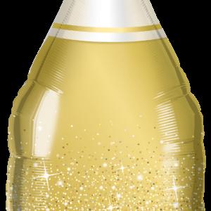 Palloncino bottiglia oro