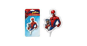 Candela sagomata Spiderman
