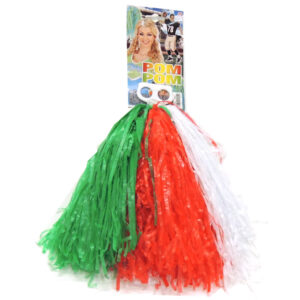 Pom Pom tricolore Italia
