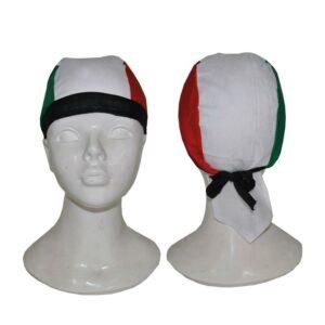 Bandana tricolore Italia