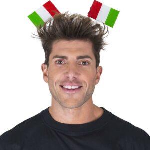 Cerchietto bandiere Italia