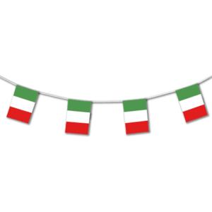 festone bandiere tricolore carta